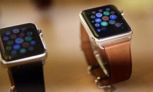 Apps on a digital watch